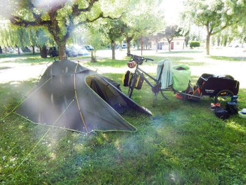 Angekommen auf dem Zeltplatz (1)
