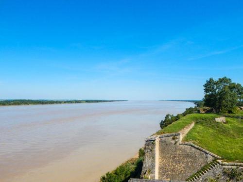 Blick auf die Gironde Richtung Royan