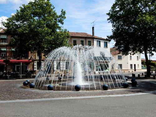 Brunnen in Valence d'Agen