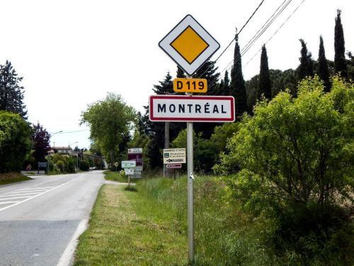 Montréal in den Ausläufern der Pyrenäen