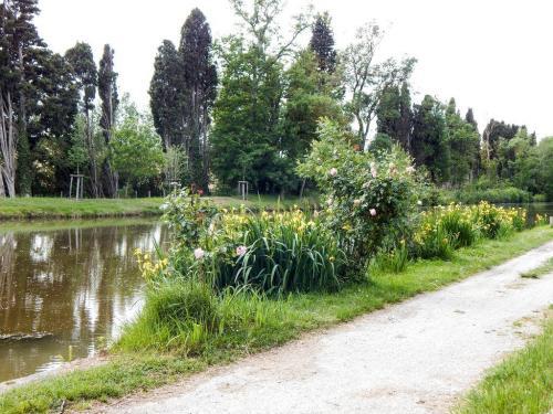 Zurück am Canal du Midi hinter Bram