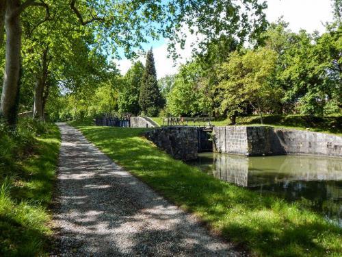 Schleuse am Canal du Midi