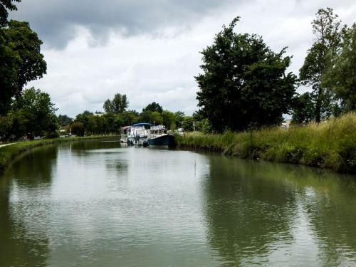 Boote am Kanal