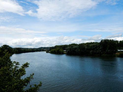 Der Fluss Tarn bei Moissac