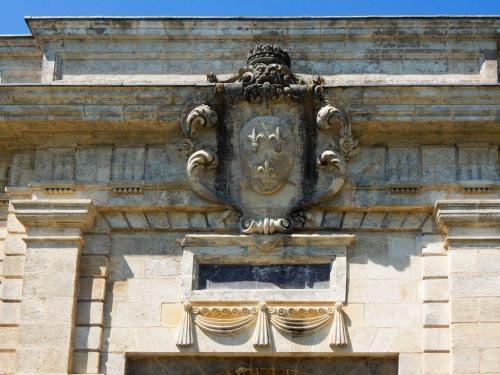 Das Haupttor von außen