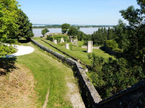 Ein Teil der Festungsmauer