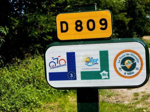 Makierungen der Radwanderwege (1)