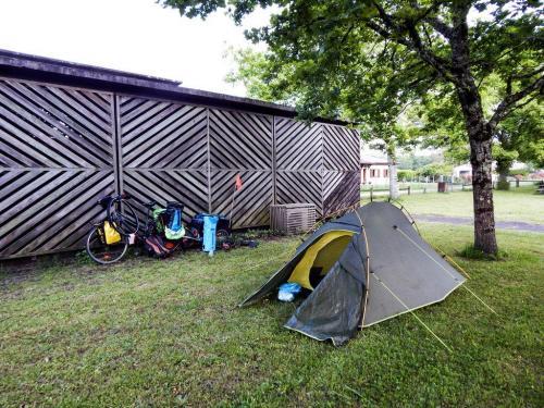Nachtlager hinter Villandraut (1)