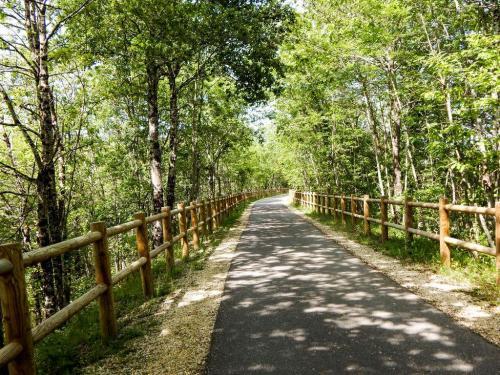 Radwanderweg nach Roaillan (1)